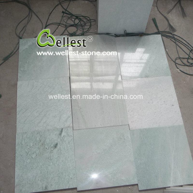 China Ming Green Marble Tile Verde Slabs Tiles Slab