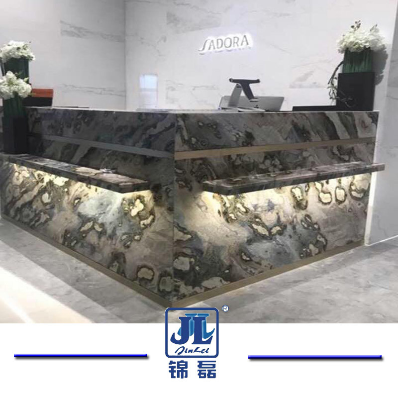 China Cheap Chinese Galaxy Blue Marble Slabs for Flooring Tiles ...