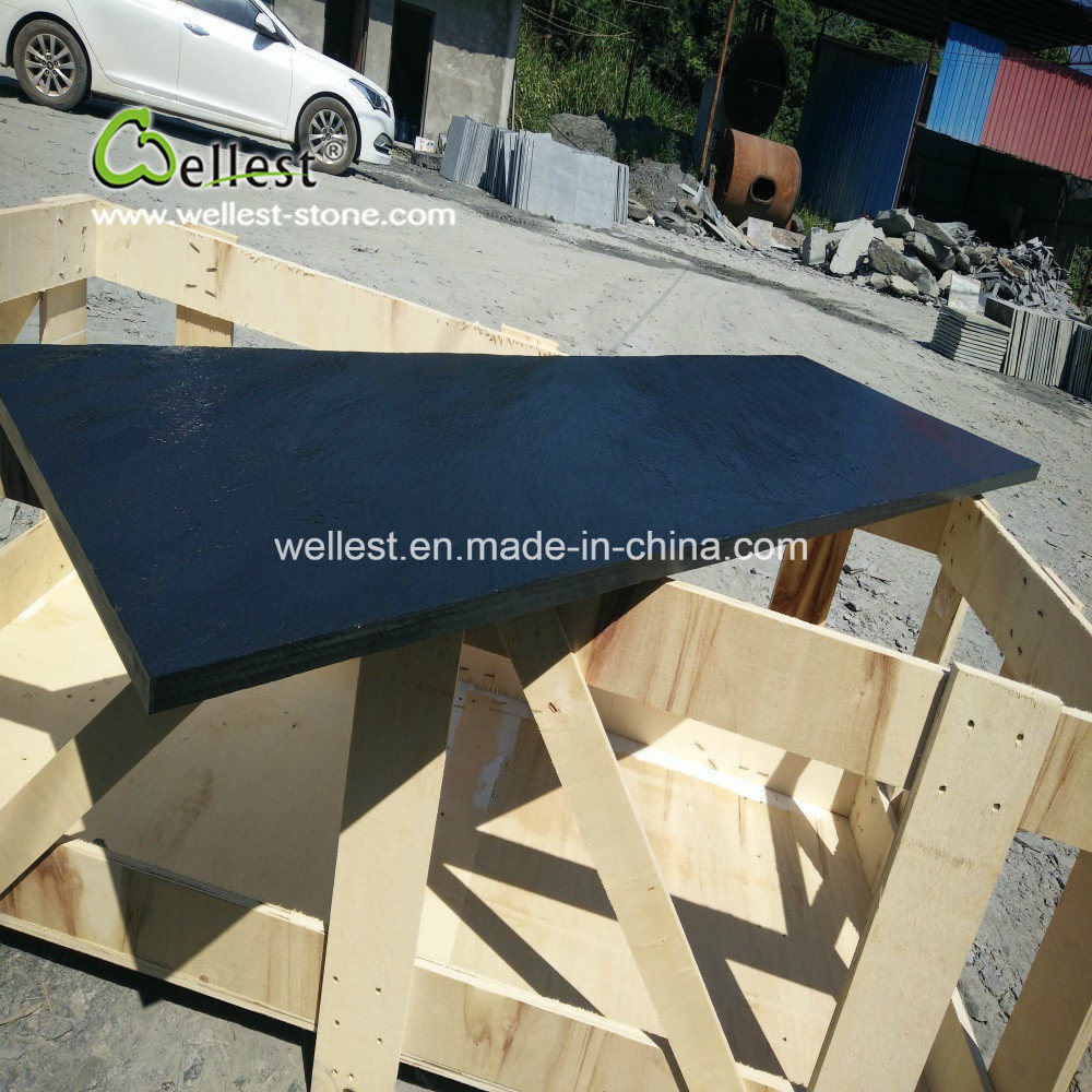 Groovy China Black Stone Non Water Honed Finish Fireplace Base Home Interior And Landscaping Synyenasavecom