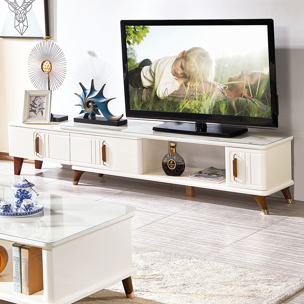 China Living Room Casual Mdf Furnitur Modern White Tv Stand China Modern White Tv Stand Stand Tv Modern