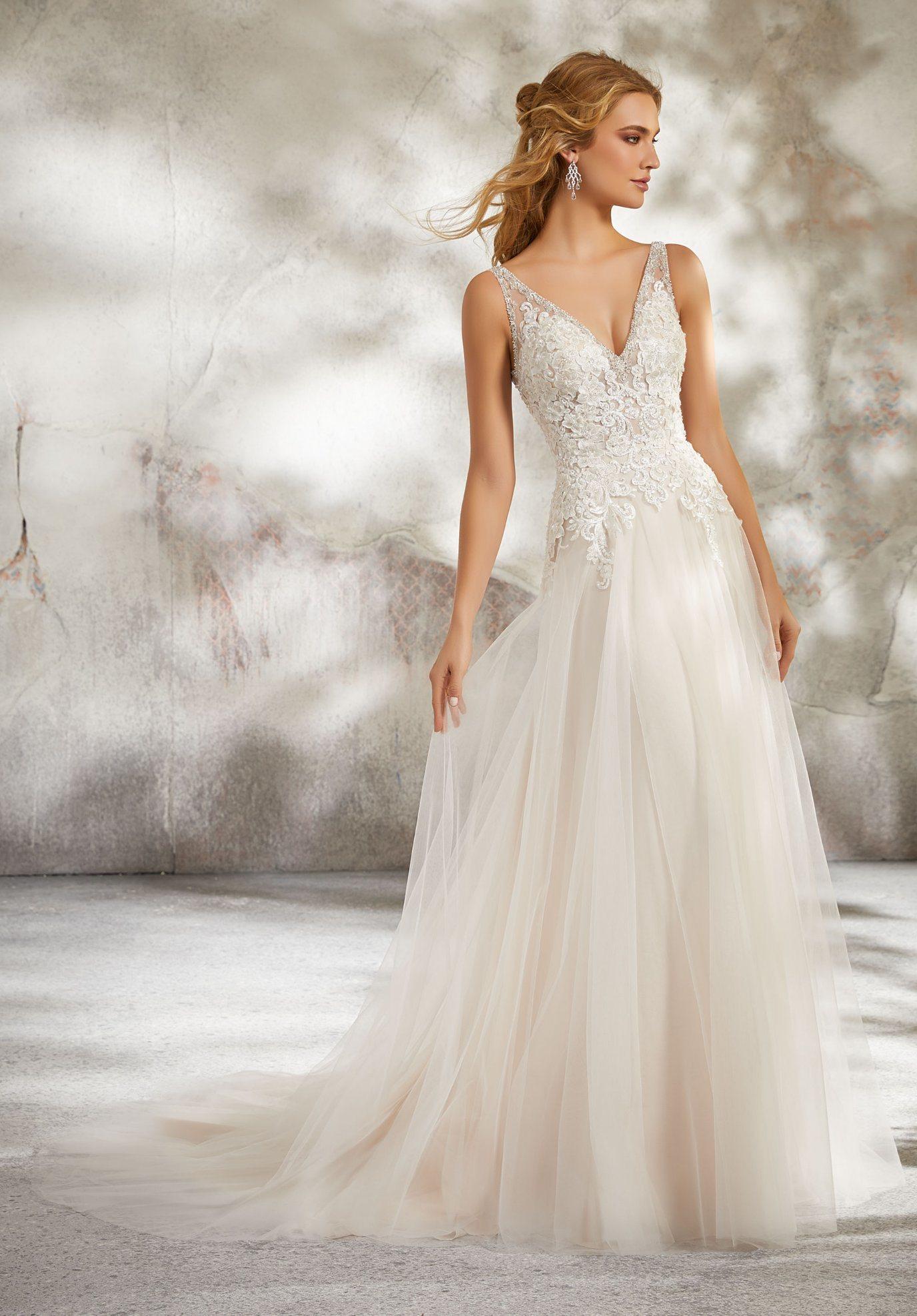 67df6b57a6 Sparkly Wedding Gowns   Saddha
