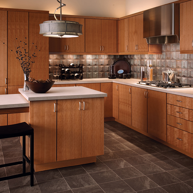 China Commercial Modern MDF Wood Kitchen Cabinet - China ...