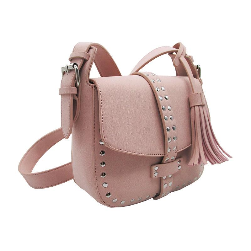 2018 New Arrival Lady Handbag Candy Color Crossbody Bag Tassel Woman Bag  Fashion Hot Sale Desiger Bag 64de6967b72a6