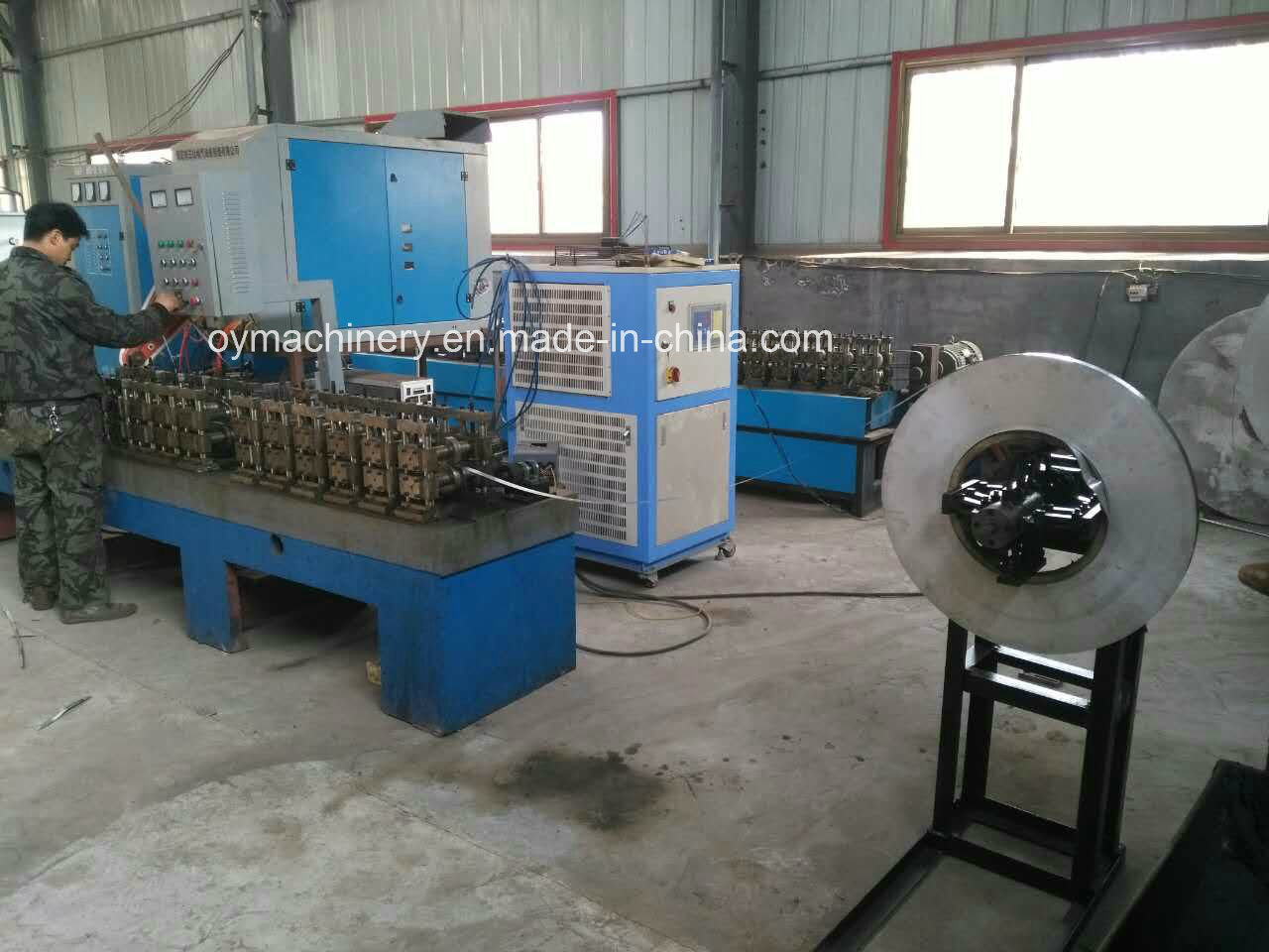 Aluminum Spacer Bar Making Machine/High Frequency Welded for Spacer Bar pictures & photos