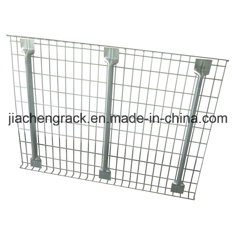 Flare Welded Galvanized or Powder Coated Metal Storage Wire Decking