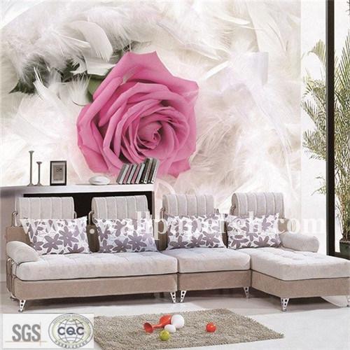 China Galaxy Home Rose Wallpaper Wallcovering Panoramic 3D Mural ...