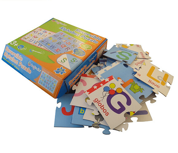 Hot Item Perfect Printing Alphabet Puzzle With Gift Box