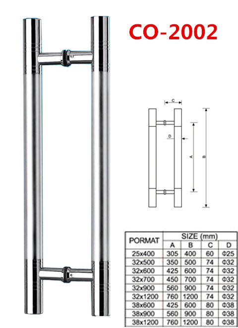 Glass Door Handle/Glass System/Stainless Steel