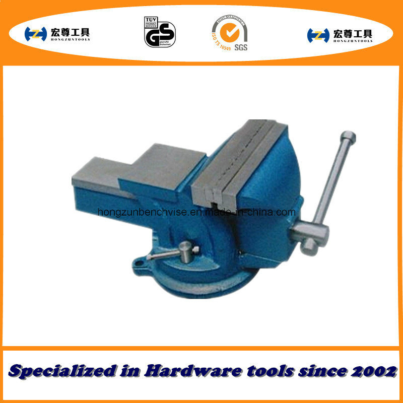 4′′ 100mm Heavy Duty French Type Bench Vise Stationary with Anvil pictures & photos