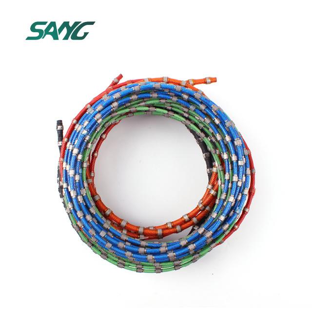 China Diamond Cutting Rope, Wire Rope. Diamond Wire Saw for Granite ...