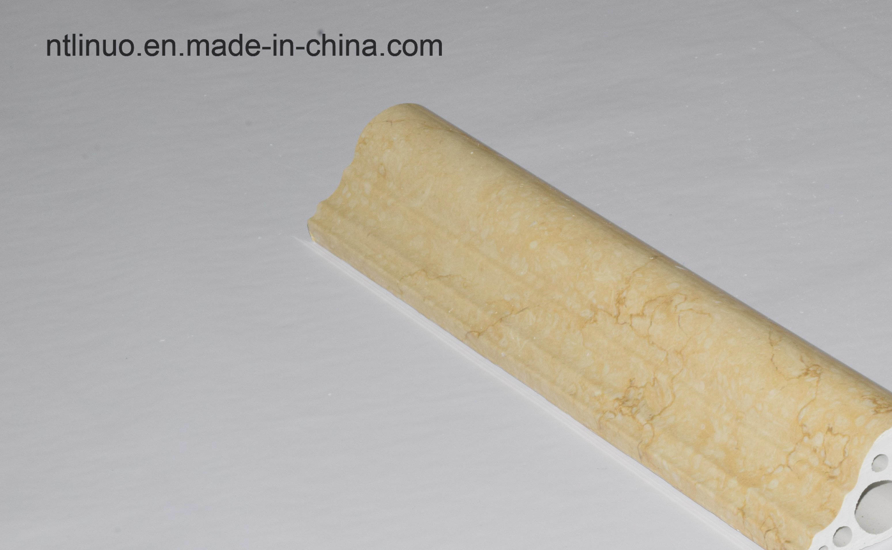 China PVC Door Frame Line China Manufacturer to Decoration The Wall ...