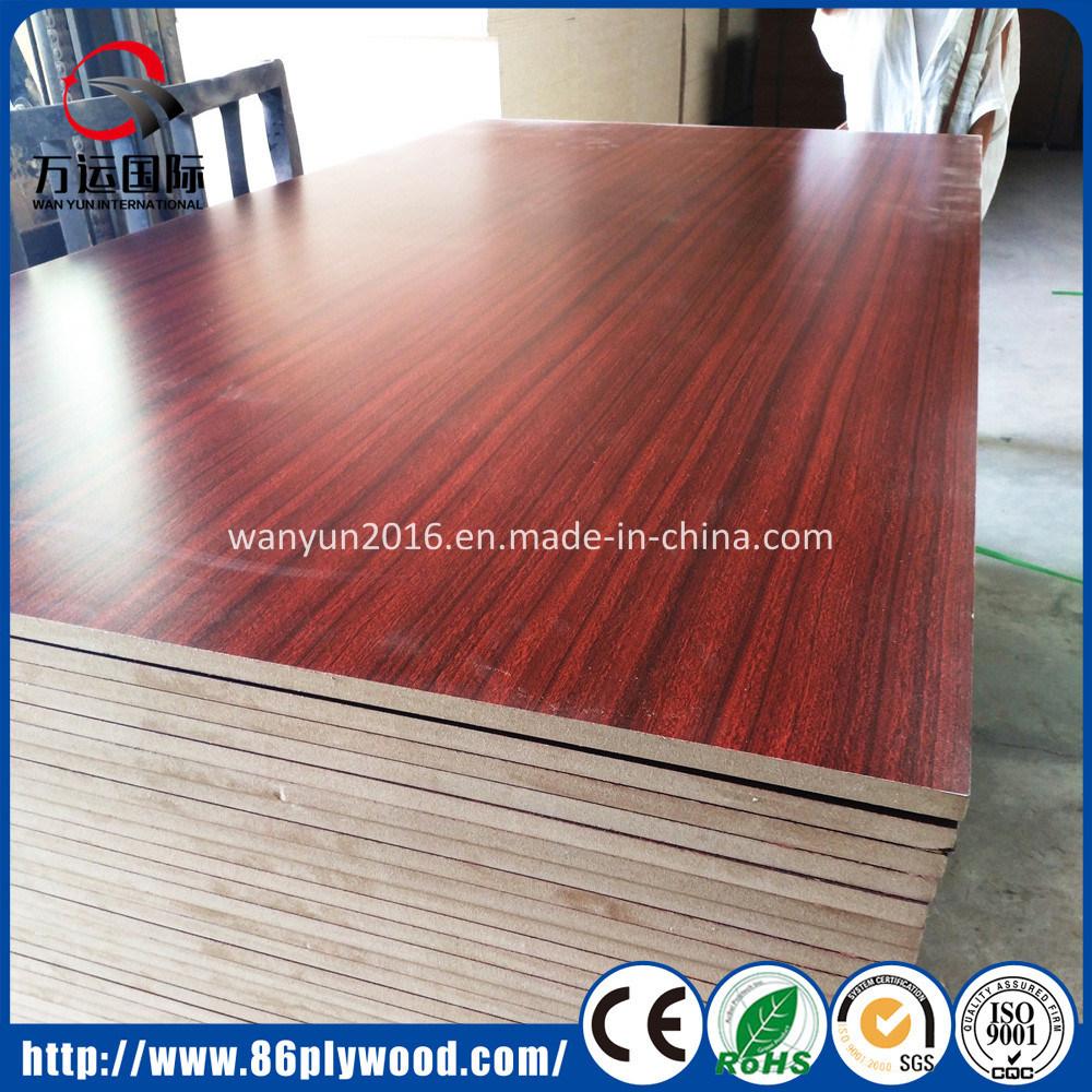 3mm 18mm Natural Ash Red Oak Veneer Laminate Mdf Board