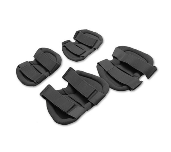 Tactical Military Soft Black Combat Airsoft Knee and Elbow Pads