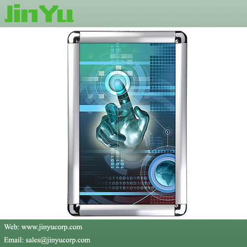 Aluminum Snap Poster Frame with Round Corner pictures & photos