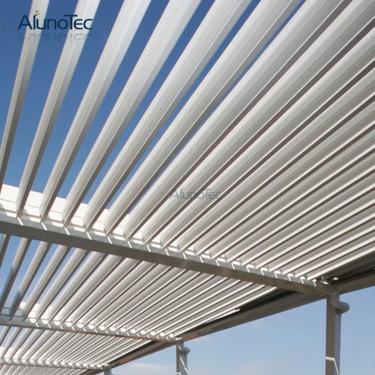 Motorised Adjustable Pergola Roof System Aluminum Pergolas