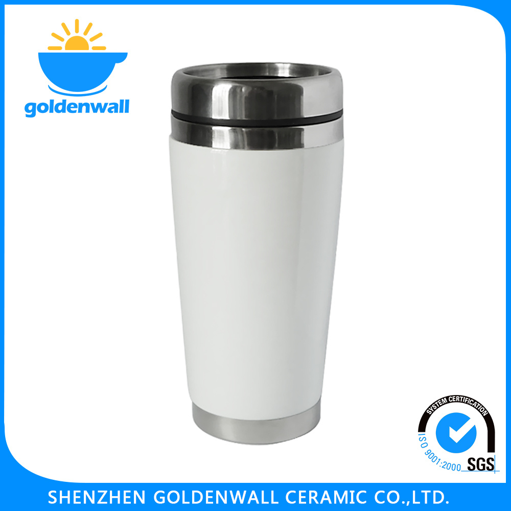 Customized Promotional Porcelain Stainless Steel Cup