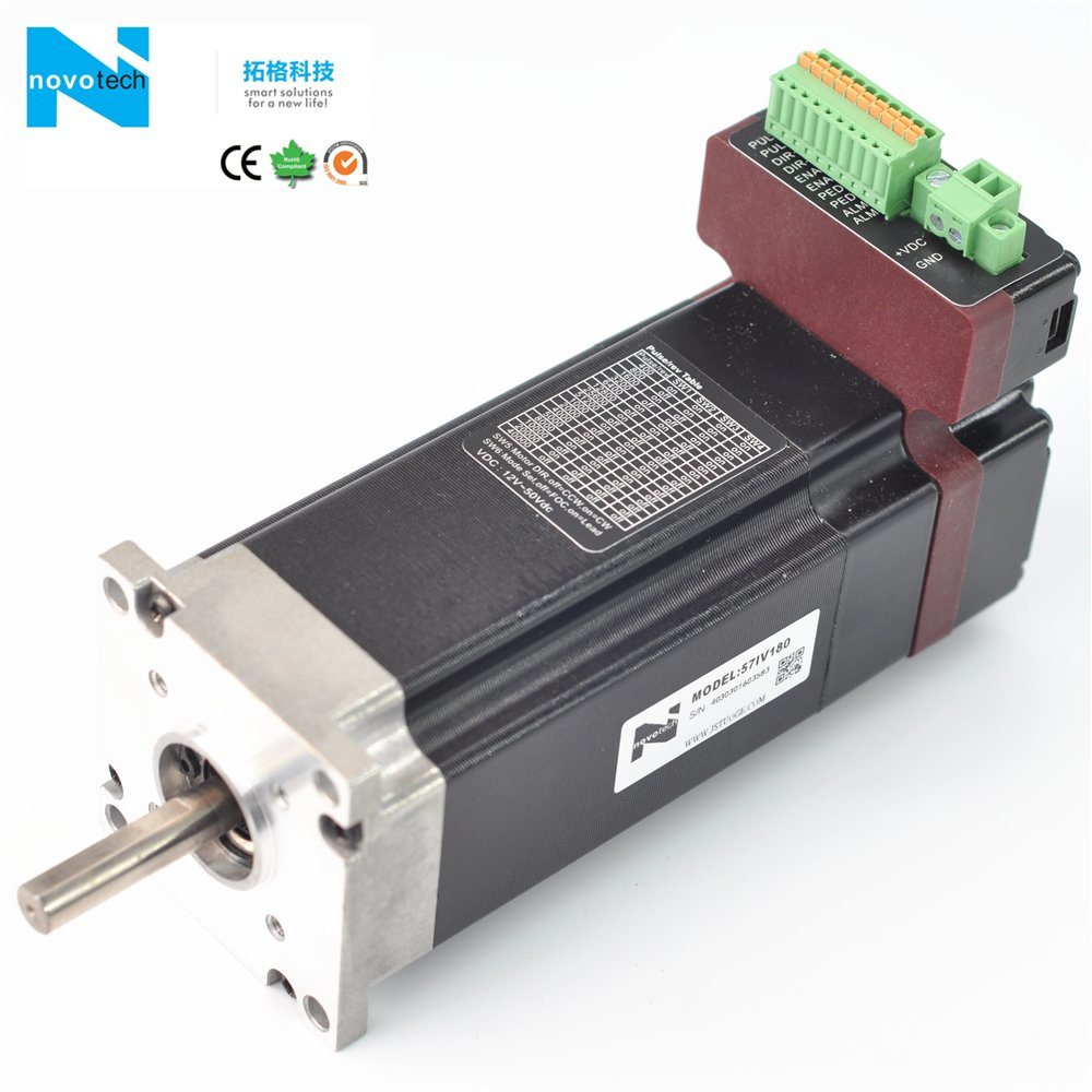 Integrated Brushless Servo Motor with Driver Built-in System pictures & photos
