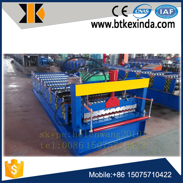 Corrugated Roofing Sheet Roll Forming Machine pictures & photos