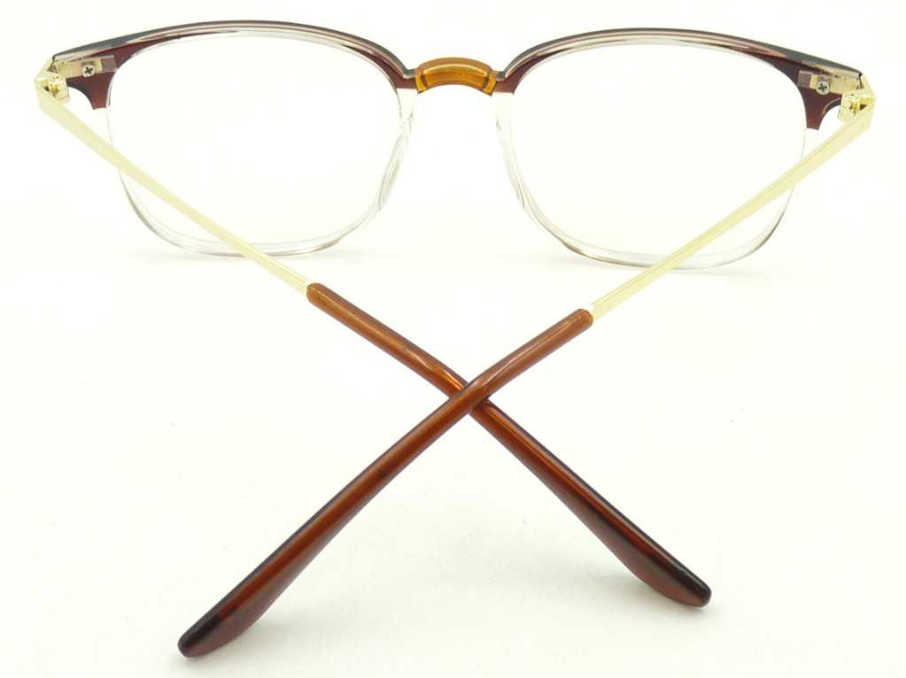 Ot17439 New Design Fashion Cheap Optical Glasses Plastic Material Optics Spectacles