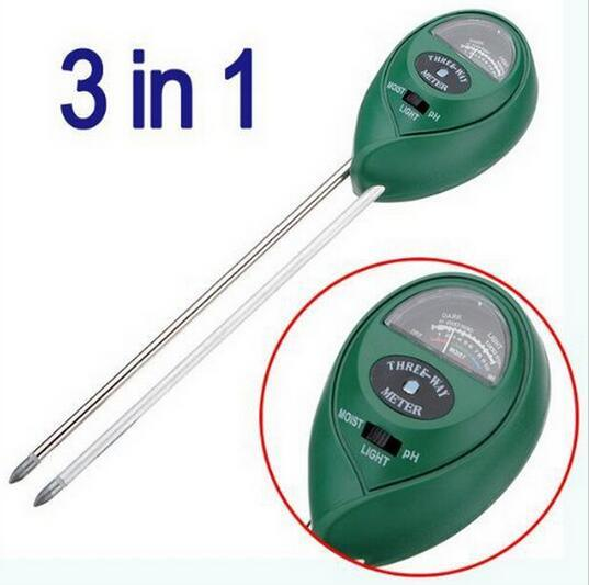 Moisture Monitoring pH Soil Tester Soil Light Sensor for Gardening