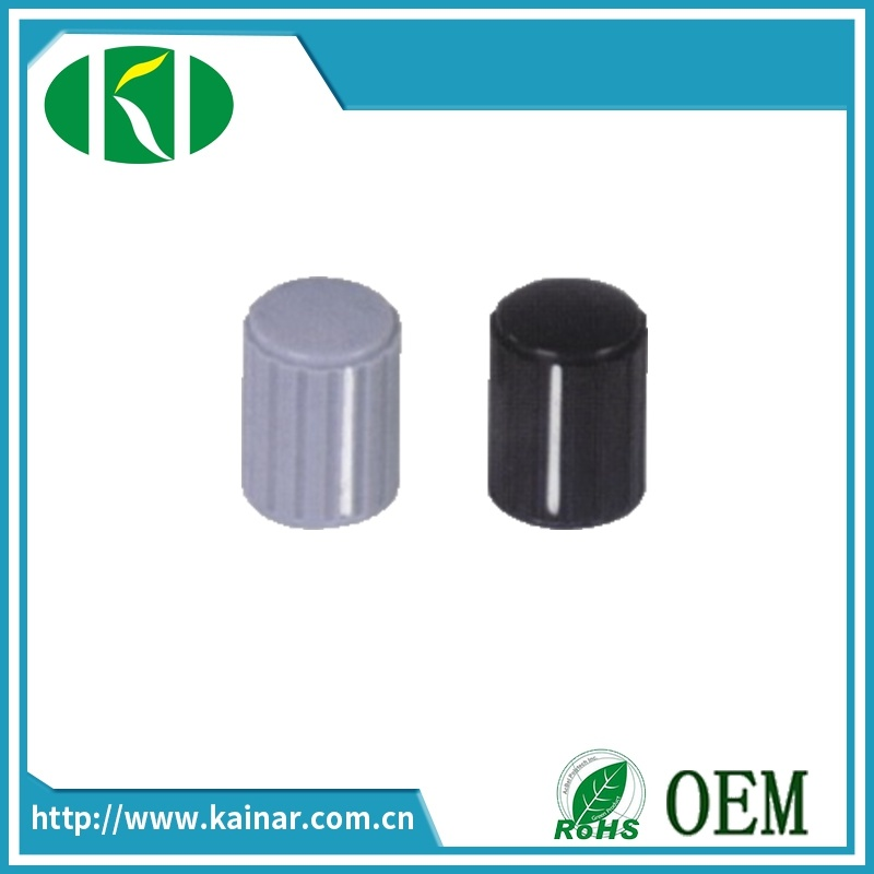 6mm Plastic Potentiometer Knob for Volume Control Kyz16-20-6j (4J)
