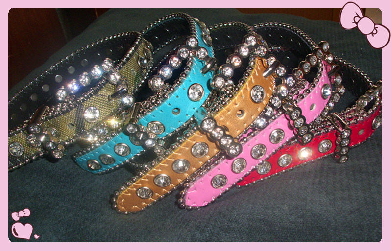 Bb Simon Luxury Dog Collar, Crystal Pet Collar