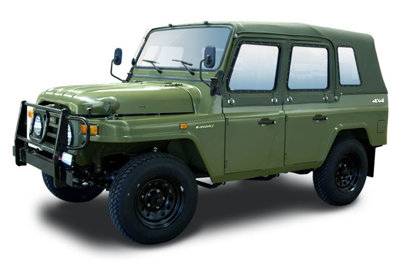 China BAW First Generation 4-door 4WD Military Vehicle ...