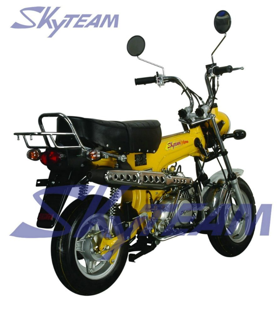 china skyteam 50cc 4 stroke dax skymax motorcycle with new big fuel tank eec approval. Black Bedroom Furniture Sets. Home Design Ideas