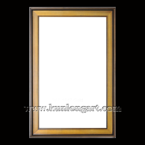 China Modern Oil Painting Frame, Gold Wooden Mirror Frame (KLSAF ...