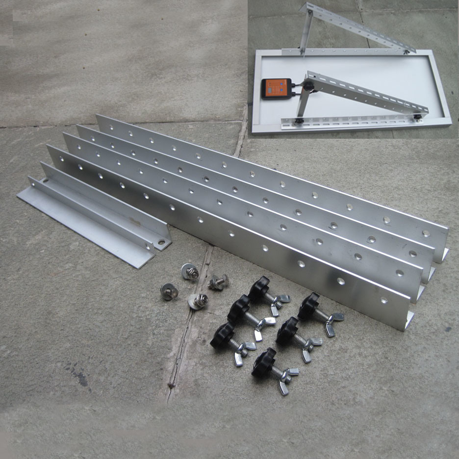 China Solar Panel Bracket Folding Tilt Solar Panel Roof