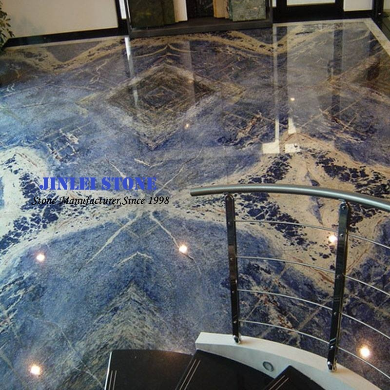 Blue Onyx Marble For Tv Set Background