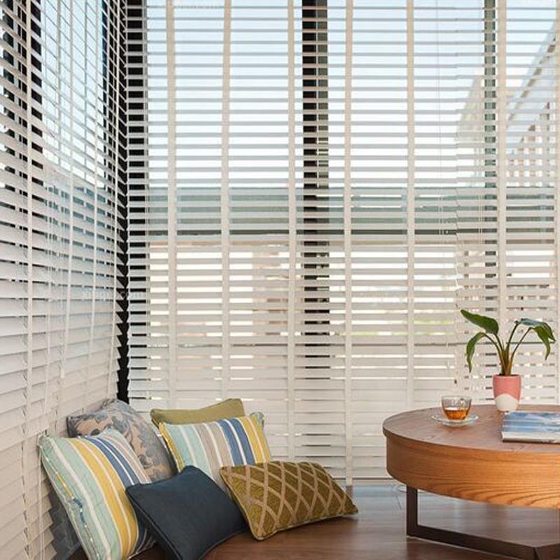 Hot Item Wooden Venetian Blinds Waterproof And Moisture Proof Living Room Study Bedroom Office