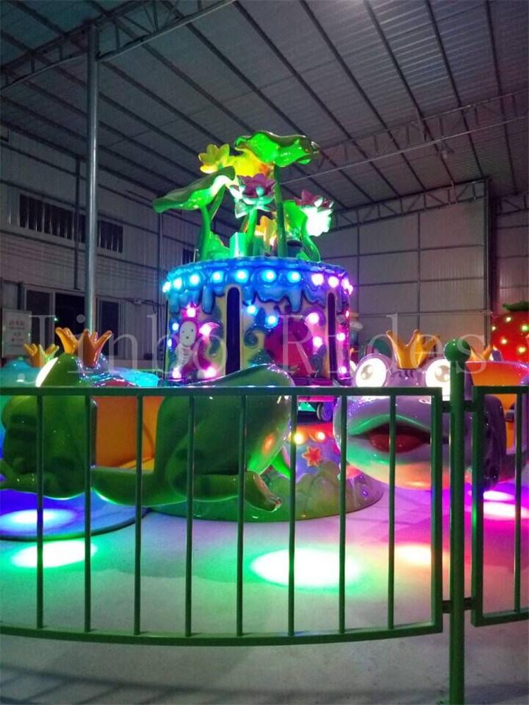 China Amusement Park Equipment Kids Rides Jump Frog Princess Ride