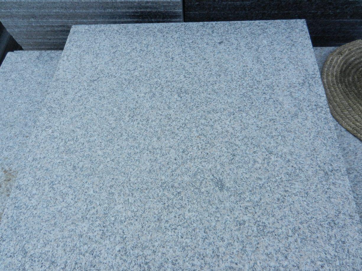 China Natural Stones G623 Grey Granite Slabs/Tiles/Countertops/Stair ...