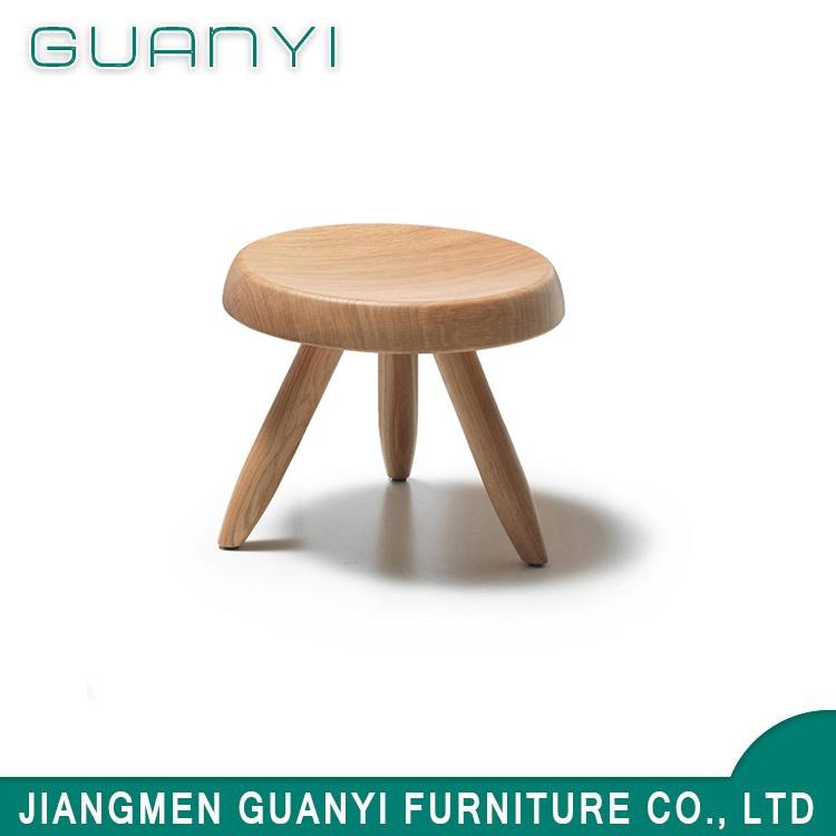 [Hot Item] Modern Style Soild Wood Home Furniture Living Room Small Stool