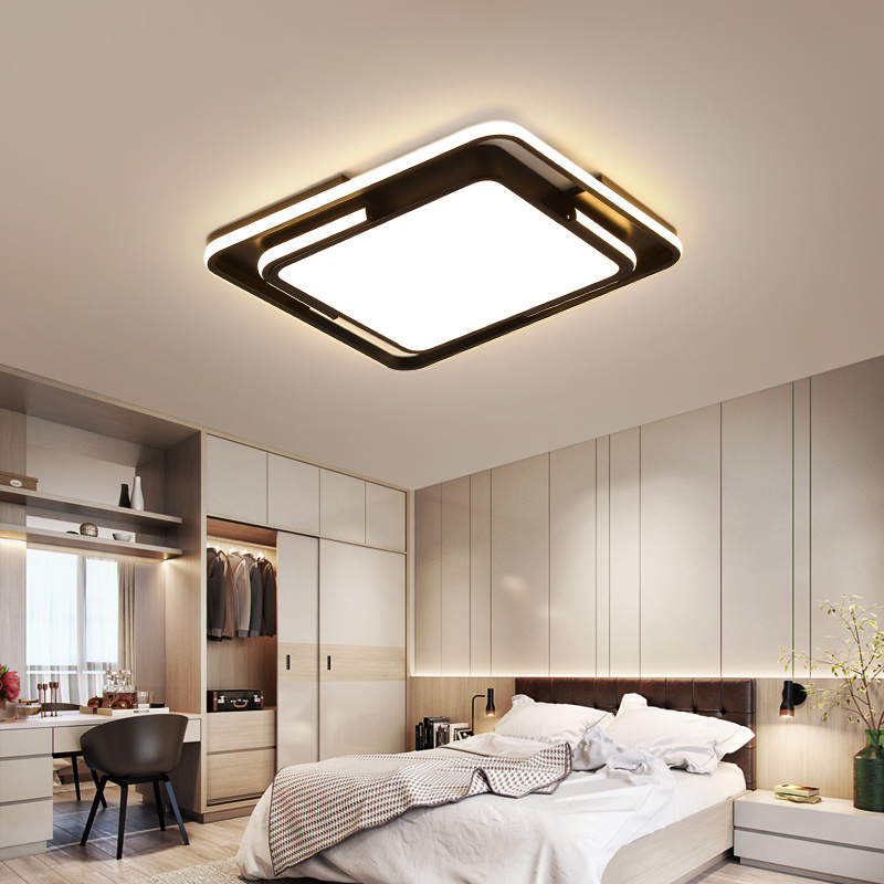 [Hot Item] Modern and Simple LED Round Room Living Room Lighting Creative  Master Bedroom Ceiling Lamp