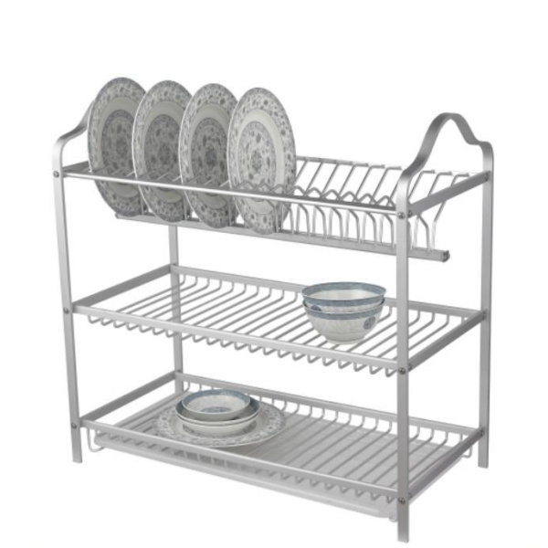 China 3 Tiers Stainless Steel Metal Kitchen Storage Racks And Shelves For Kitchen China Kitchen Racks And Plastic Shelf Price
