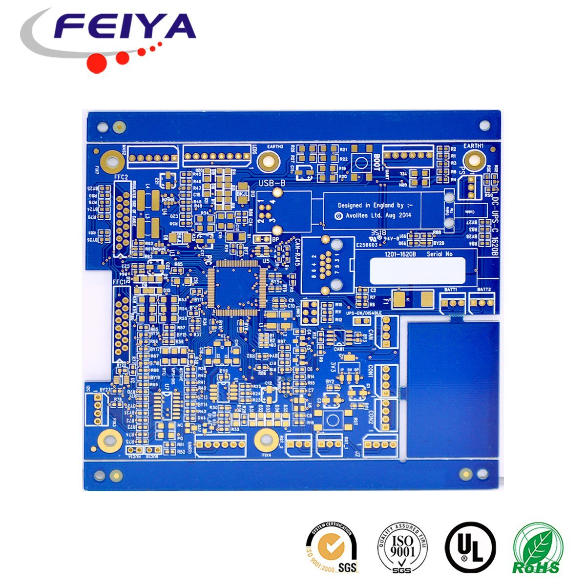 Pcb Printed Circuit Board Wiring Rigid