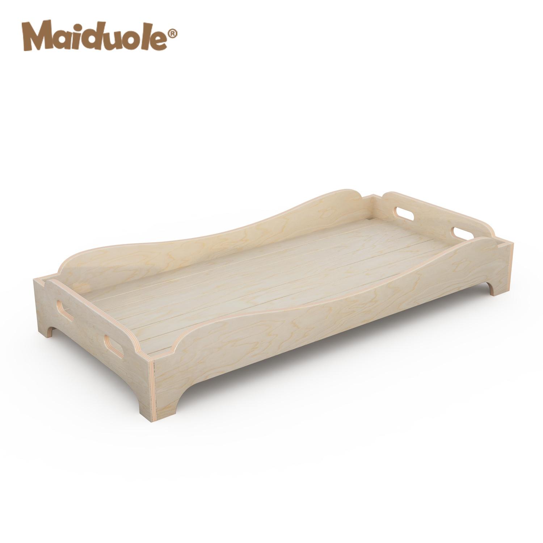 - China Composite Board Wooden Cute Folding Design Children Bed