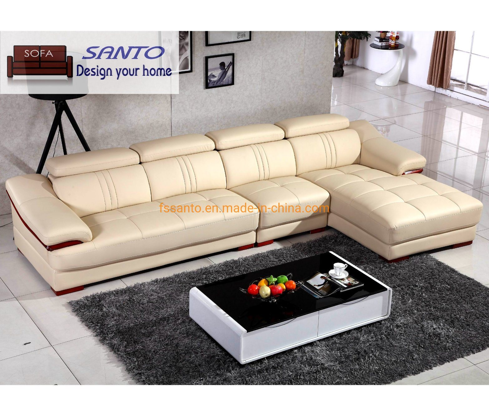 [Hot Item] Corner Wooden Sofa Set Designs Living Room Furniture Furniture  House Living Room Sofa Sets Dubai Leather Sofa Furniture