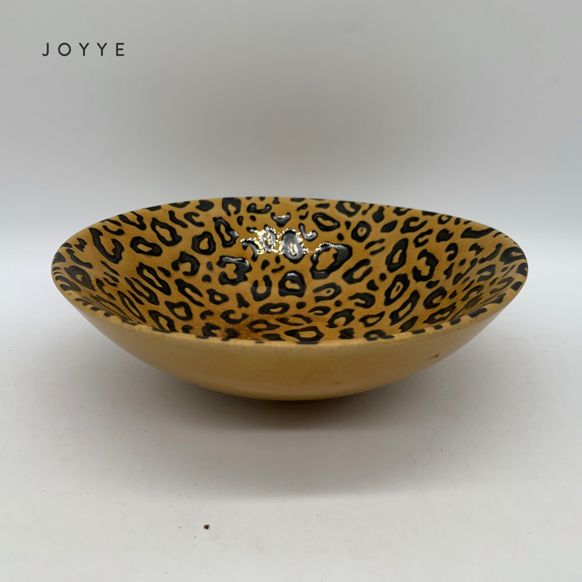China Classical Leopard Pattern Ceramic Bowl For Serving China Soup Bowl And Round Bowl Price
