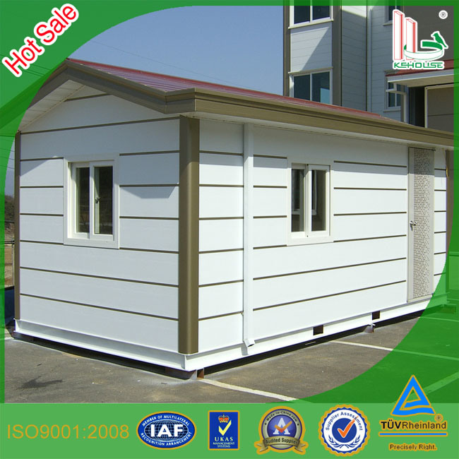 China Steel Frame Portable Modular Villas Prefabricated House with ...