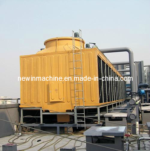 FRP Square Type Cross Flow Cooling Tower (NST Series) pictures & photos