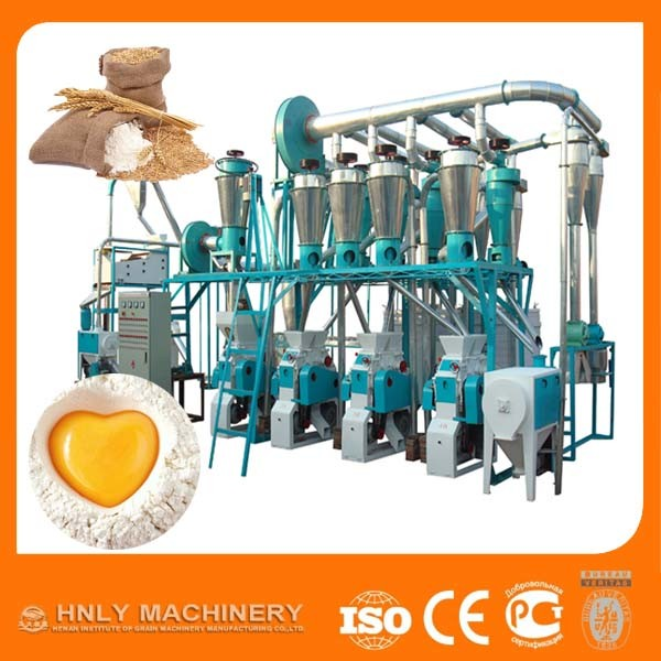 Hot Selling Wheat Flour Mill Machine for Making Bread, Cake