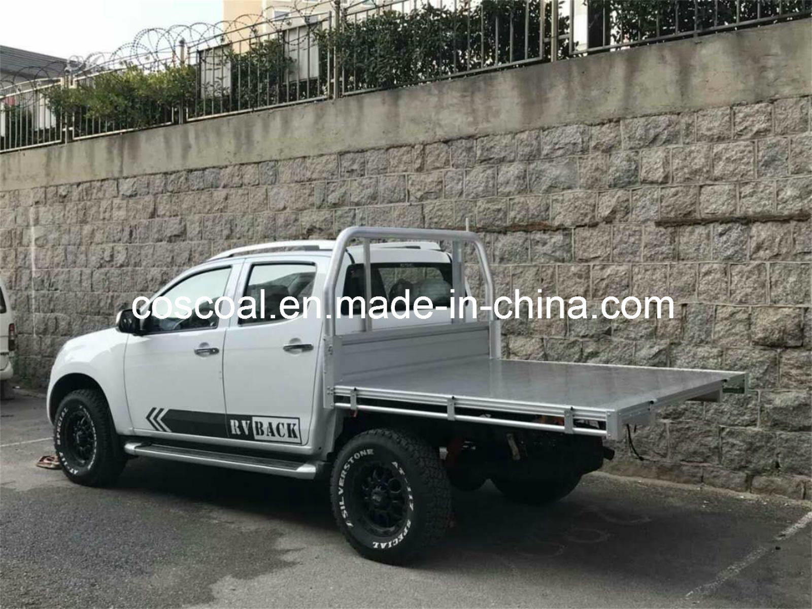 China Extrusion Aluminium Alloy Flatbed For Camper Trailer China Pickup Truck Bed Aluminium Truck Body