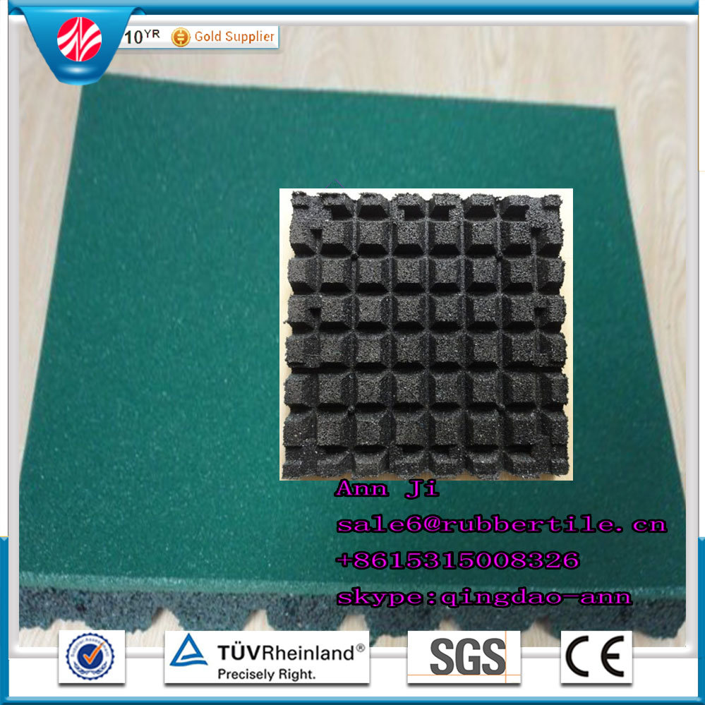 China Indoor Rubber Tile, Children Rubber Flooring Tiles, Colorful ...