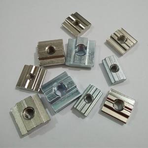 Sliding blocks Nut 6-M4-M5 Galvanized Steel