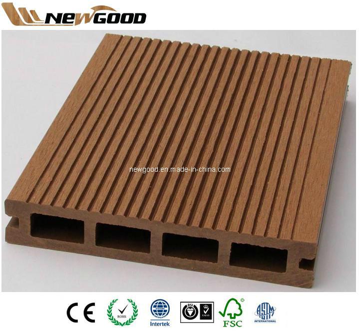 China Outdoor Waterproof Wood Plastic Composite Wpc Decking Flooring