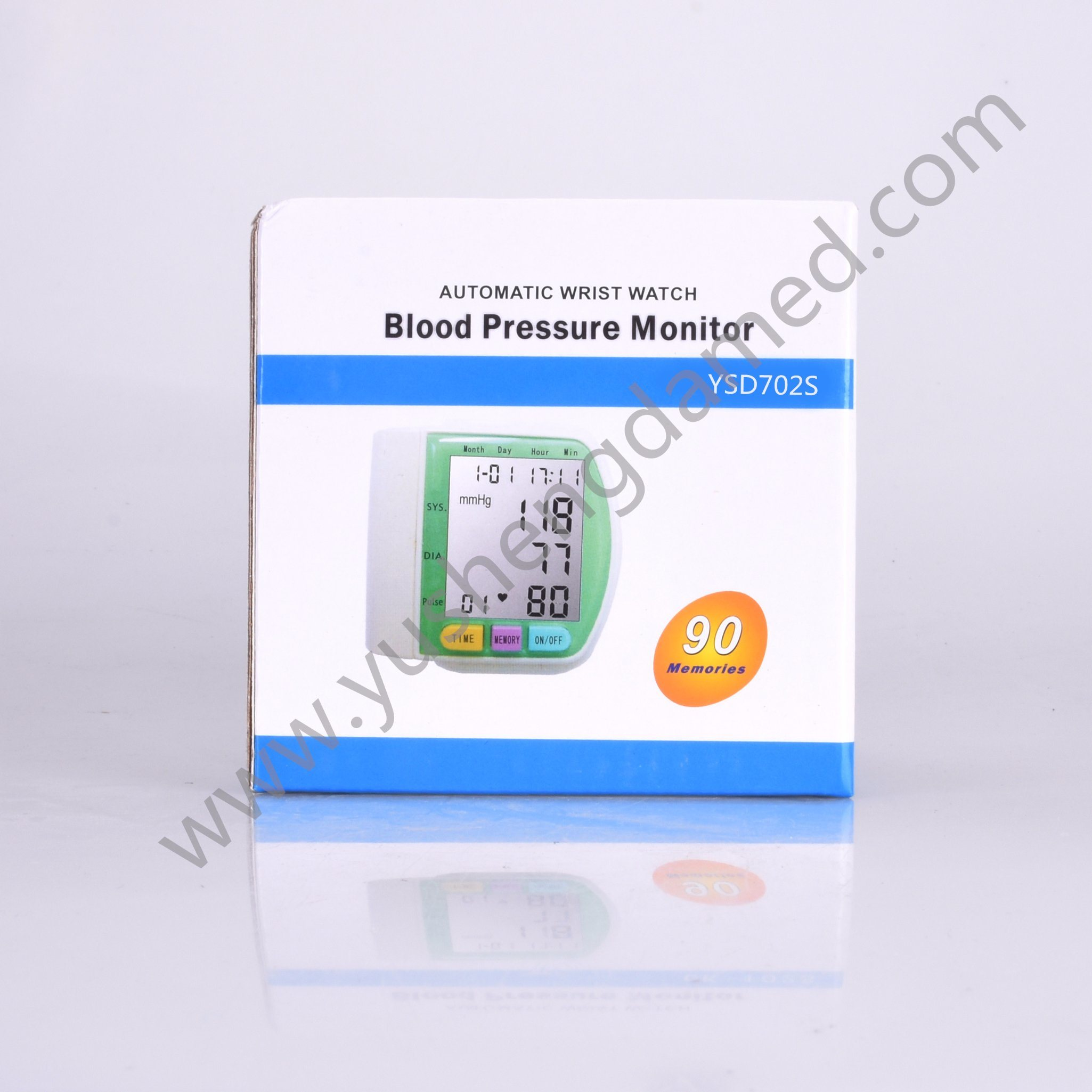 Ce Certified New Medical Device Wrist Type Blood Pressure Monitor pictures & photos
