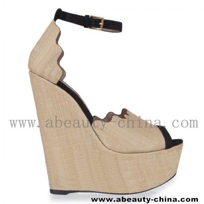 China Designer Wedge Sandals S120518-2